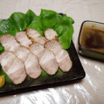 日本酒抜きで、赤さば(はちびき)の刺身や自家製しめさば、自家製焼豚をいただく+発酵にまつわる日々の作業(ワイルドストロベリー[葉]酵母やいちご酵母の中種、発酵ピクルス)