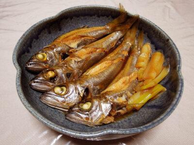 千葉県産の黒むつの煮つけ