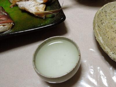 開運の常温で天然真鯛の炙り刺身、カルパッチョ、あら炊き、鯛めしをいただく