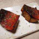 奈良の地酒、春鹿 青之鬼斬 生酛純米 超辛口 生原酒 H30BYの常温で赤さば(はちびき)の刺身や木の芽焼き、吉川水産のにぎり寿司をいただく+発酵にまつわる日々の作業