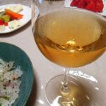 イタリア(ピエモンテ)ワイン、ミッレジマート・スプマンテ・パドゼ 2015で鯛の刺身やカルパッチョ、ガーリックソテー、あらのスープ、GNのマカダミアチョコレートをいただく