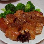 兵庫の地酒、竹泉 純米吟醸 幸の鳥 2013BYの熱燗で麻婆豆腐や豚ばら肉の煮込み 八角風味をいただく+自家製バナナ酵母を使い中種法でカンパーニュを焼く